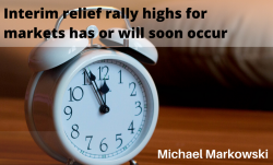 Interim Relief Rally For Markets Imminent