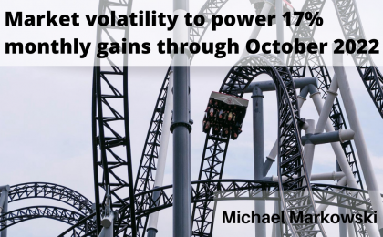 Market Volatility to Power 17% Monthly Gains Through October 2022