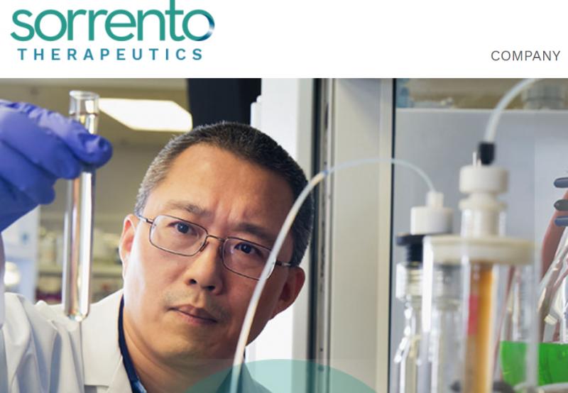 Sorrento's In Vitro Study Finds Antibody That Blocks Covid-19 100%