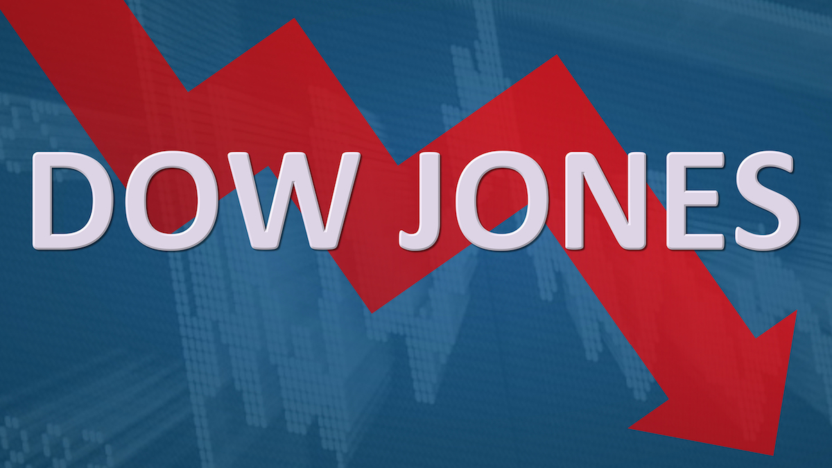 Dow in Danger of Closing Red After Six-Day Run