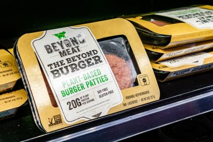 Beyond Meat Soars 12% on Supermarket Partnership With Alibaba