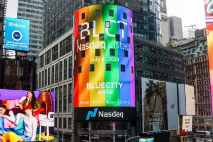 Forget Unicorns, Chinese Rainbow Stock BlueCity Hits New Heights in New York IPO