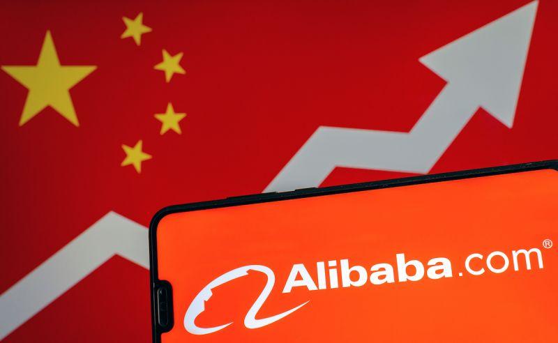 Hong Kong Stocks Rise as Alibaba Posts Its Biggest Gain Since Its Debut