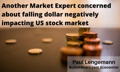 Another Expert on the Falling Dollar's Impact on Stock Market