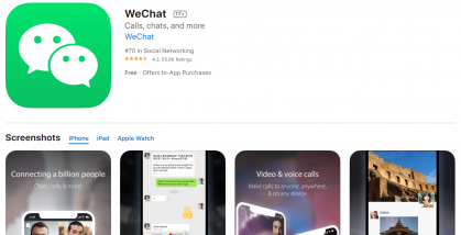 COMMENTARY: WeChat Gets Less Attention Than TikTok, but Its Ban May Carry More Weight